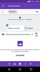 Crosscall Action X3 - Contact, Appels, SMS/MMS - Envoyer un MMS - Étape 12