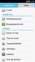 Huawei Ascend Y550 - software - update installeren zonder pc - stap 3
