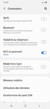 Samsung Galaxy A20e - Internet et connexion - Connexion avec un équipement multimédia via Bluetooth - Étape 6