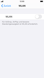 Apple iPhone SE - iOS 13 - WLAN - Manuelle Konfiguration - Schritt 4