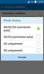 Samsung G388F Galaxy Xcover 3 - Réseau - Changer mode réseau - Étape 7