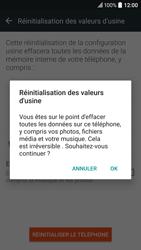 HTC 10 - Aller plus loin - Restaurer les paramètres d'usines - Étape 7
