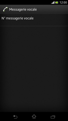 Sony LT30p Xperia T - Messagerie vocale - Configuration manuelle - Étape 6