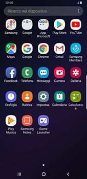 Samsung Galaxy Note9 - Android Pie - Applicazioni - Configurazione del negozio applicazioni - Fase 3