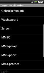 HTC A8181 Desire - internet - handmatig instellen - stap 9