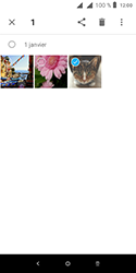 Alcatel 1 - Photos, vidéos, musique - Envoyer une photo via Bluetooth - Étape 6