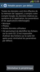 Samsung Galaxy S 4 Mini LTE - Téléphone mobile - Réinitialisation de la configuration d