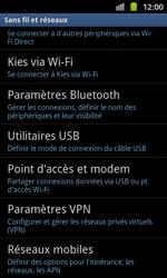 Samsung I8530 Galaxy Beam - MMS - Configuration manuelle - Étape 5