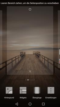 Huawei Mate 9 - Startanleitung - Installieren von Widgets und Apps auf der Startseite - Schritt 4