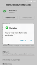 Samsung Galaxy A5 (2017) - Android Nougat - Applications - Comment désinstaller une application - Étape 7