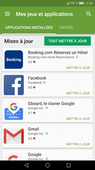 Huawei Mate 9 - Applications - Comment vérifier les mises à jour des applications - Étape 5