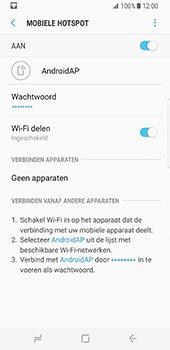Samsung Galaxy S8 (G950) - WiFi - Mobiele hotspot instellen - Stap 13