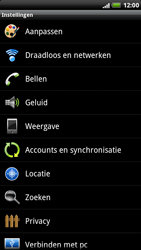 HTC X515m EVO 3D - wifi - handmatig instellen - stap 4