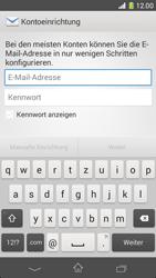 Sony Xperia Z1 Compact - E-Mail - Manuelle Konfiguration - Schritt 5