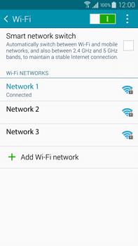 Samsung Galaxy Note 4 - WiFi - WiFi configuration - Step 8