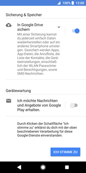Sony Xperia XZ2 - Apps - Konto anlegen und einrichten - 16 / 19