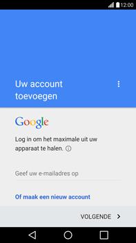 LG G4 - apps - account instellen - stap 4