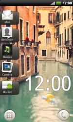 HTC S510b Rhyme - SMS - Handmatig instellen - Stap 1