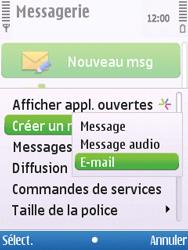 Nokia C5-00 - E-mail - envoyer un e-mail - Étape 3
