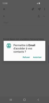 Samsung Galaxy S10e - E-mails - Envoyer un e-mail - Étape 6