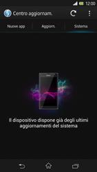Sony Xperia Z - Software - Installazione degli aggiornamenti software - Fase 8