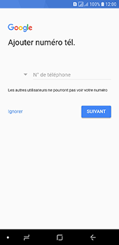 Samsung Galaxy A6 - Applications - Créer un compte - Étape 13