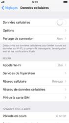 Apple iPhone 8 - iOS 12 - Internet et roaming de données - Comment vérifier que la connexion des données est activée - Étape 4