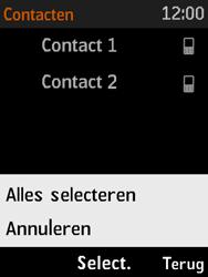Nokia 3310 3G (TA-1022) - Contacten en data - Contacten kopiëren van toestel naar SIM - Stap 9