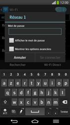 LG D955 G Flex - WiFi - Configuration du WiFi - Étape 8