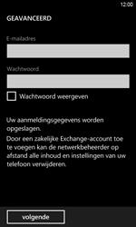 HTC Windows Phone 8S - E-mail - Handmatig instellen - Stap 7