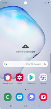 Samsung galaxy-note-10-dual-sim-sm-n970f - Applicaties - Aankopen doen in de Google Play Store met je KPN abonnement - Stap 1