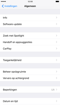Apple Apple iPhone 6 Plus iOS 10 - Toestel - Software updaten - Stap 5