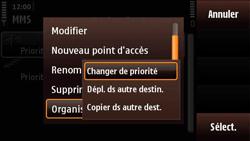 Nokia N97 Mini - MMS - Configuration manuelle - Étape 12