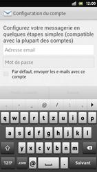 Sony Xperia S - E-mail - Configuration manuelle - Étape 5