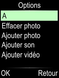 Doro Phone Easy 612 - Contact, Appels, SMS/MMS - Envoyer un MMS - Étape 17