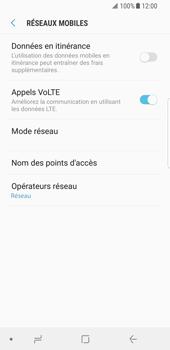 Samsung Galaxy S8 - Android Oreo - Internet et roaming de données - Désactivation du roaming de données - Étape 7