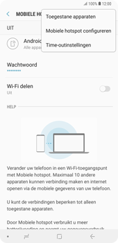 Samsung galaxy-note-9-sm-n960f - WiFi - Mobiele hotspot instellen - Stap 9