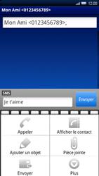 Sony Ericsson Xperia X10 - MMS - envoi d'images - Étape 7