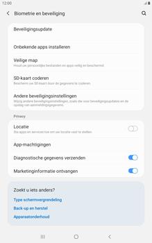 Samsung galaxy-tab-a-8-0-lte-2019-sm-t295 - Beveiliging en ouderlijk toezicht - Hoe wijzig ik mijn SIM PIN-code - Stap 5