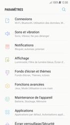 Samsung Galaxy A5 (2017) - Android Nougat - Internet et roaming de données - Comment vérifier que la connexion des données est activée - Étape 4