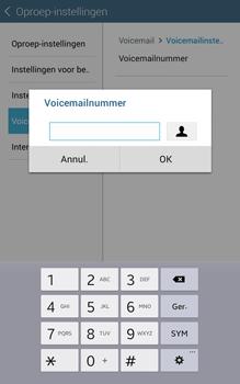 Samsung Galaxy Tab4 8.0 4G (SM-T335) - Voicemail - Handmatig instellen - Stap 9