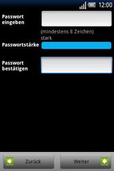 Sony Ericsson Xperia X8 - Apps - Konto anlegen und einrichten - Schritt 10