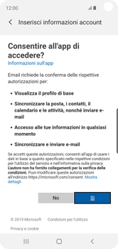 Samsung Galaxy S10e - E-mail - 032c. Email wizard - Outlook - Fase 9