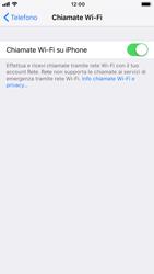 Apple iPhone 8 - iOS 12 - WiFi - Attivare WiFi Calling - Fase 8