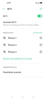 Oppo A53s - Internet et connexion - Accéder au réseau Wi-Fi - Étape 6