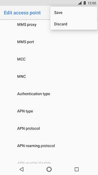 Nokia 6 (2018) - MMS - Manual configuration - Step 15