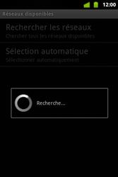 Alcatel OT-983 - Réseau - Sélection manuelle du réseau - Étape 10