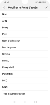 Huawei Y5 (2019) - MMS - configuration manuelle - Étape 10