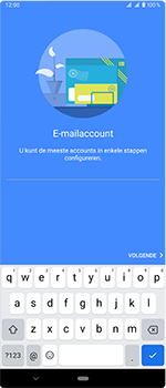 Sony Xperia 1 - E-mail - handmatig instellen - Stap 7