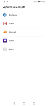 Huawei Y6P - E-mails - Ajouter ou modifier votre compte Outlook - Étape 4